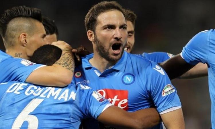 """نابولى ينتزع كأس السوبر الايطالى من """" السيدة العجوز """" بعد مباراة مجنونة"""
