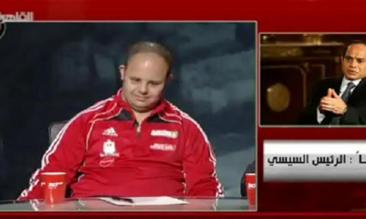 بالفيديو .. أول مداخلة هاتفية للرئيس عبد الفتاح السيسي بالفضائيات