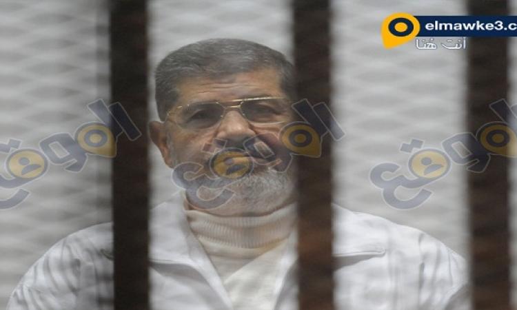 """تأجيل محاكمة مرسى وعدد من قيادات الإخوان بـ """"أحداث الاتحادية"""" لجلسة 5 يناير المقبل"""