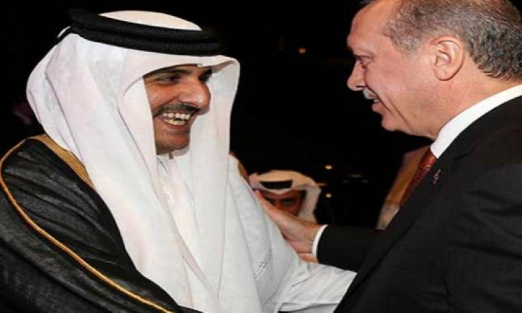 مطالبة أمير قطر لأردوغان بالمصالحة مع مصر
