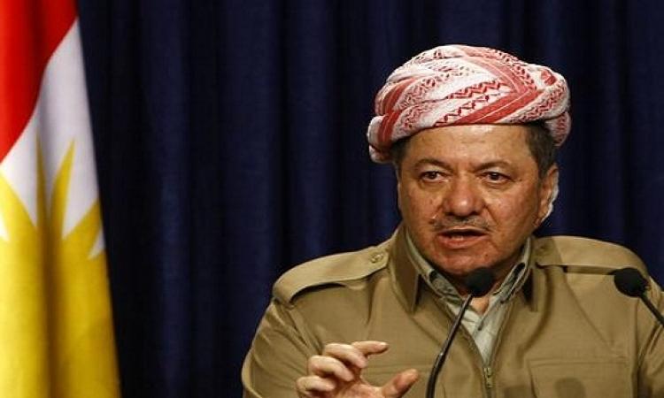 """""""البارزاني"""" يؤكد مساعدة تركيا لكردستان محاربة """"داعش"""""""