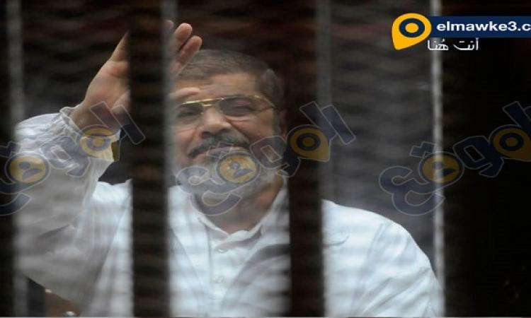 """اليوم .. استئناف محاكمة مرسي وآخرين من قيادات الإخوان في """"أحداث الاتحادية"""""""