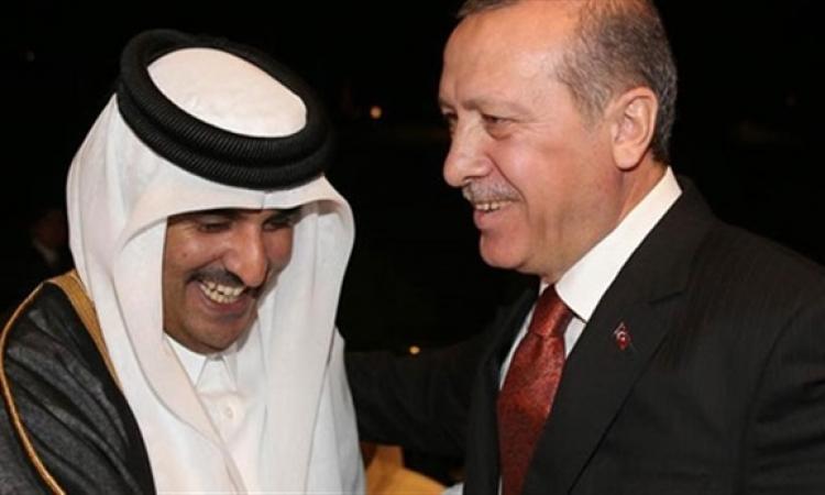 بعد المصالحة المصرية القطرية الأمير القطرى يسعى لمصالحة تركية مصرية