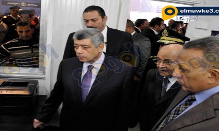 بالصور .. وزير الداخلية يفتتح وحدة مرور بحدائق الأهرام