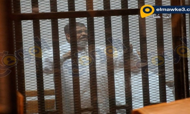 بالصور .. محاكمة مرسي وأخرين من قيادات الاخوان في قضية التخابر