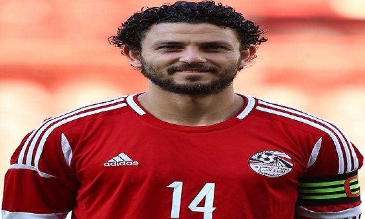 حسام غالى مصاب قبل نهائى كأس مصر