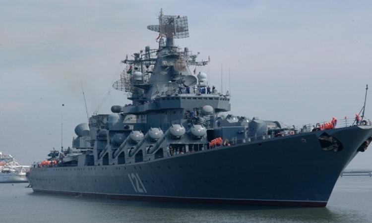 سفية عسكرية روسية تدخل ميناء طرطوس السوري