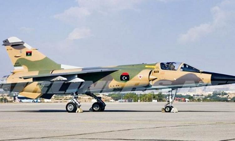 """غارات مكثفة للجيش الليبى فى محيط """"الهلال النفطى"""" بليبيا"""