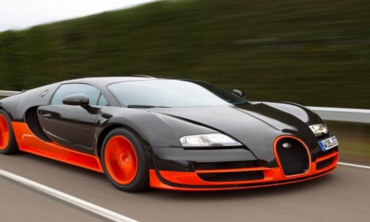 """بالصور .. """"بوجاتى فيرون"""" أسرع سيارة فى العالم بـ..2.5 مليون دولار بس"""