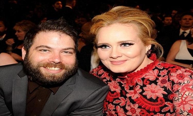 مصادر تؤكد انفصال المغنية أديل عن زوجها