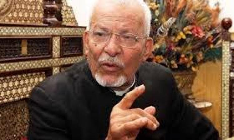 الأنبا يوحنا :اننا ندعو لسيادة الرئيس كل يوم فى القداس ونطلب له العودة بالسلامة