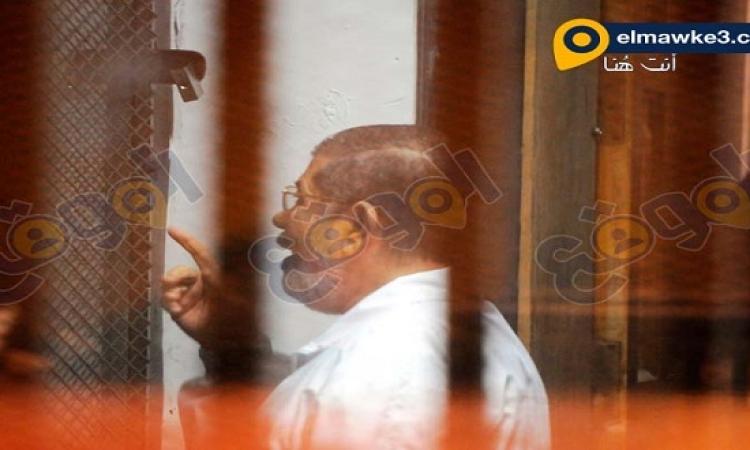 """بالصور .. تأجيل محاكمة مرسي وآخرين بقضية """"أحداث الاتحادية"""""""