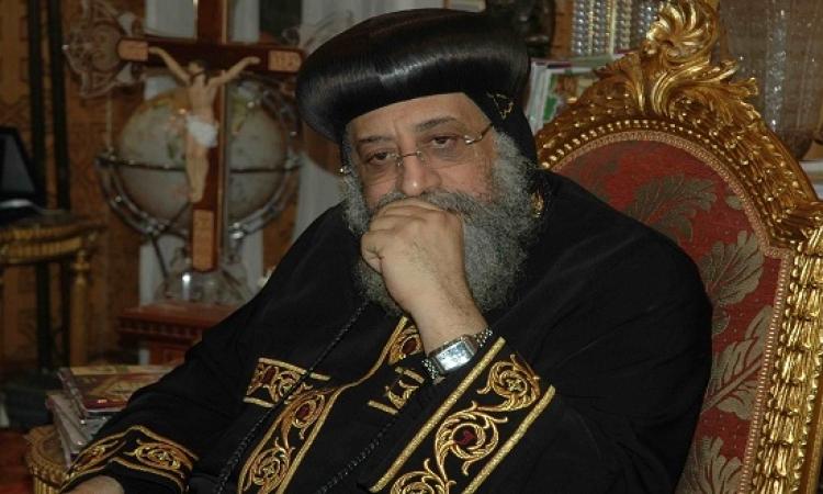 البابا يرأس قداسًا بالكاتدرائية لتأبين شهداء مصر فى ليبيا الثلاثاء القادم