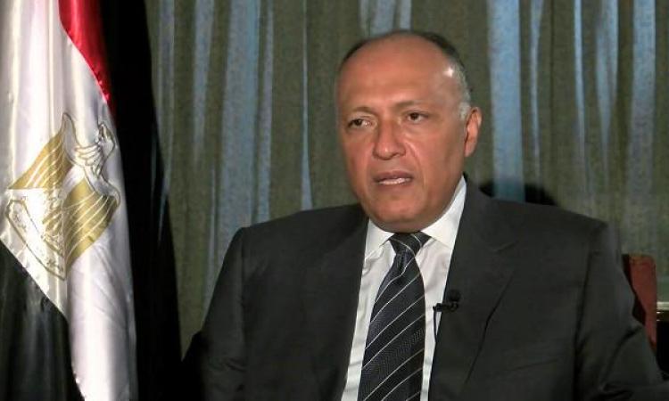 وزير الخارجية يستقبل اليوم المفوض الأوروبى للهجرة