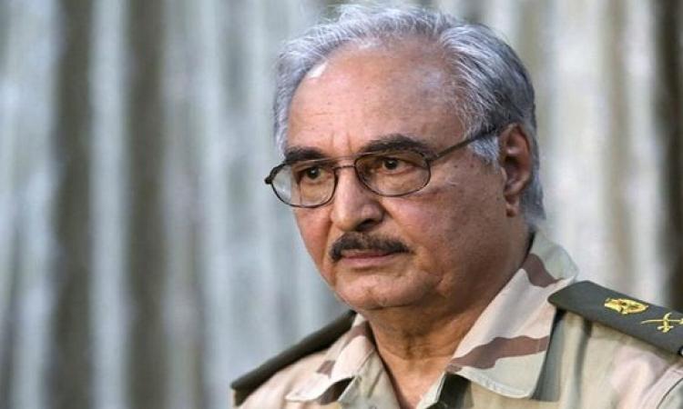 اللواء حفتر : نؤيد التدخل العسكرى المصرى فى ليبيا لضرب داعش