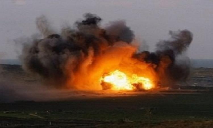 انفجار ضخم بمحيط قسم ثالث العريش شمال سيناء