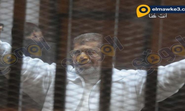 تأجيل محاكمة مرسى واعوانه فى قضية وادى النطرون الى 8 فبراير
