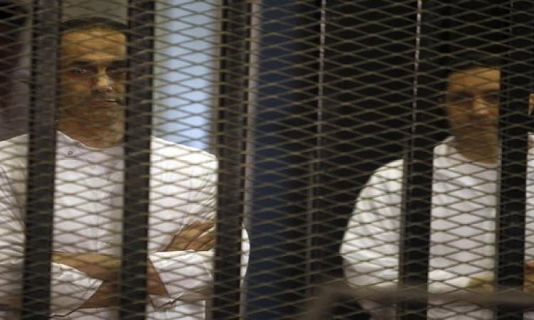 الإفراج عن علاء وجمال نجلى الرئيس الأسبق مبارك