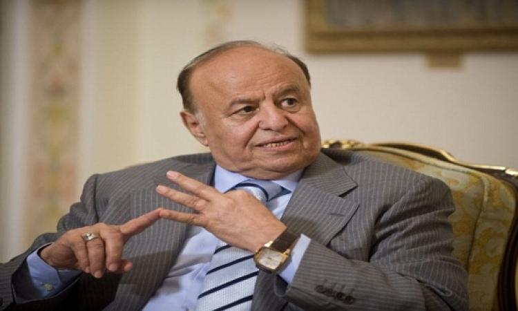 هادى يقترح وقفاً لإطلاق النار لمدة سبعة أيام خلال مفاوضات جنيف