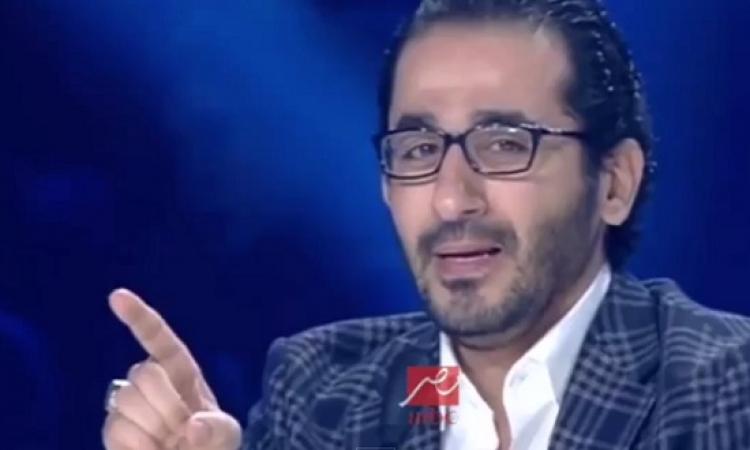 كيف تضامن احمد حلمى مع شهداء استاد الدفاع الجوى