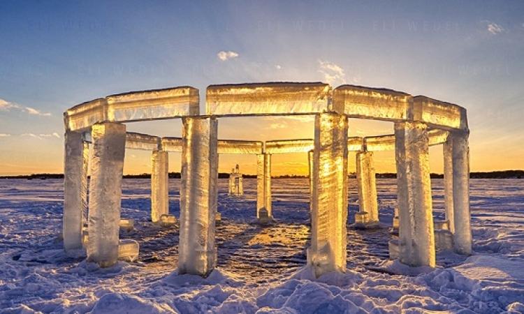 سر النصب الجليدى فى ويسكنسون وعلاقته بالكائنات الفضائية ؟