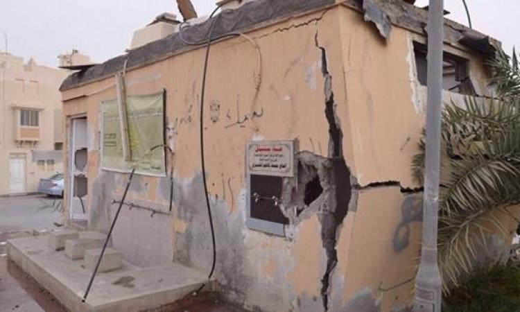 انفجار مسجد فى البحرين واعتقال المشتبه بهم