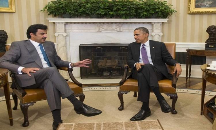 الكونجرس يتهم قطر بدعم الإرهاب .. وأوباما يرد : لأ دى بتقاومه!! أكيد قصده دوله تانية !!