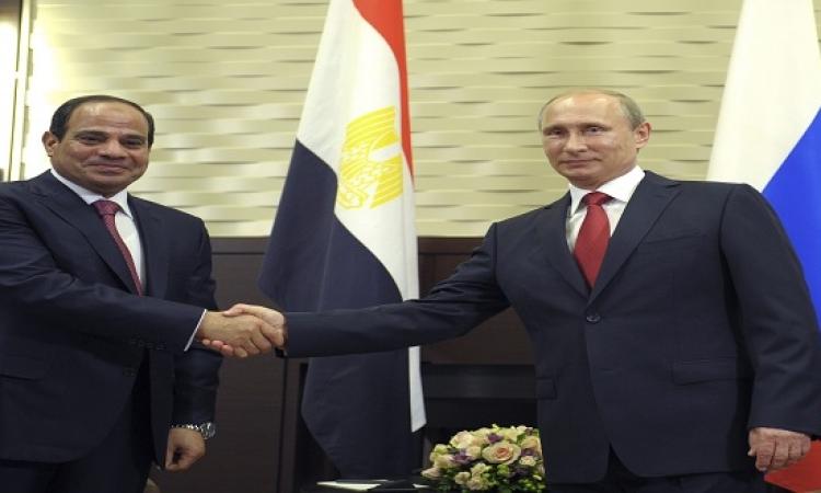 محادثات روسية مصرية حول انهاء استخدام الدولار فى التجارة الثنائية واستبداله بالعملة المحلية
