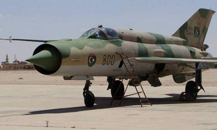 الجيش الليبى يواصل قصفه معاقل داعش ردا على ذبح مصريين