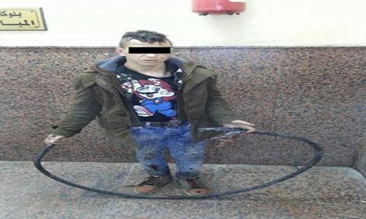 مراهق عمره 16 عام يتسبب فى وقف مترو المرج لمدة ساعة