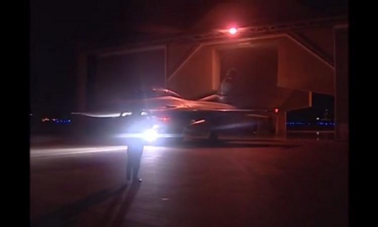 الموقع ينشر أول فيديو وصور للغارات المصرية على مواقع داعش فى ليبيا