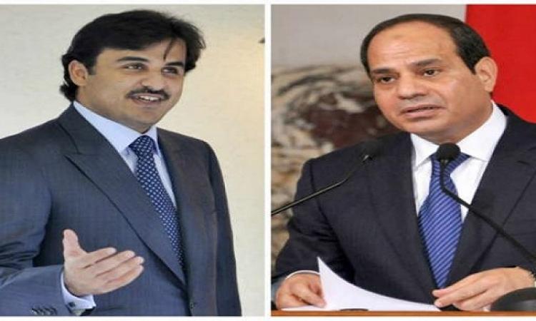وزير خارجية قطر: أى أمر يحصل فى مصر يؤثر على الدول العربية