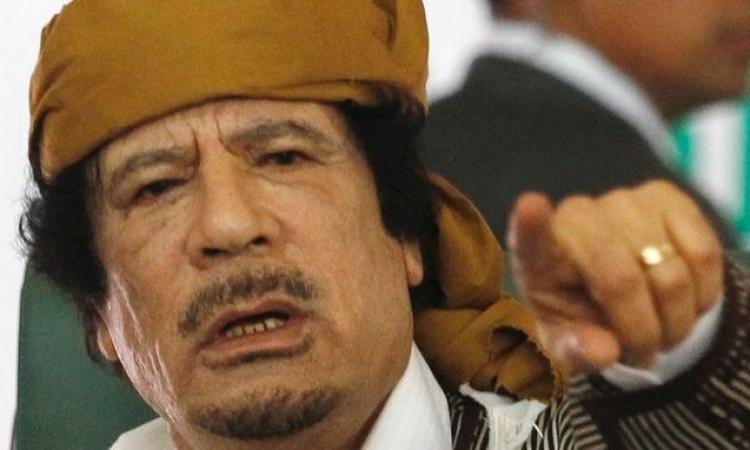 بالفيديو .. تذكر ما قاله القذافى عن قطر فى خطاب 22 فبراير 2011