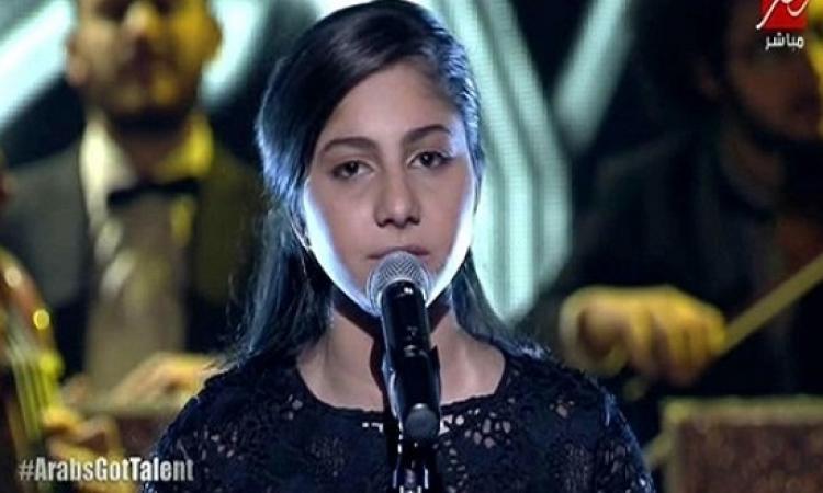 ياسمينا: نجوميتى بدأت على مسرح Arabs Got Talent