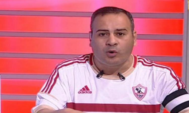 بالفيديو.. جابرالقرموطى بزى الزمالك فى برنامجه تعاطفاً مع الشهداء