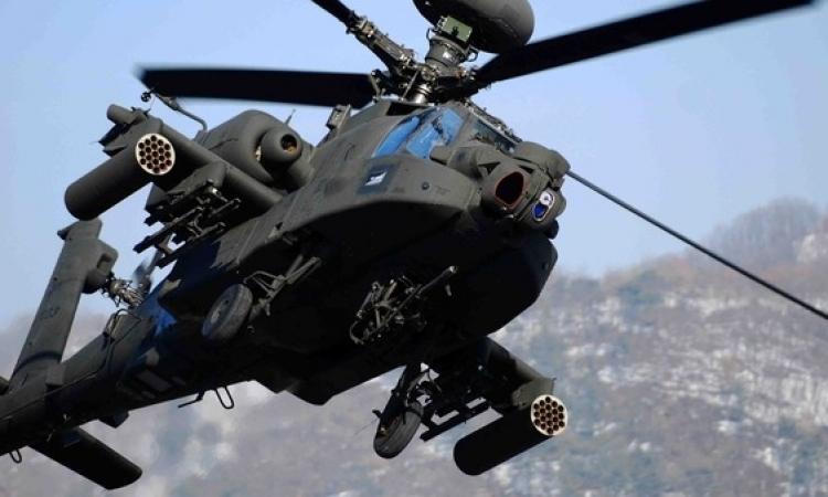 مقتل تكفيرى وضبط خلية إرهابية خلال حملة أمنية للجيش فى سيناء