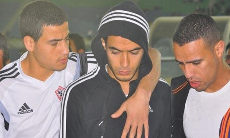 رئيس الزمالك يحيل عمر جابر للتحقيق لرفضه المشاركة إمام إنبى