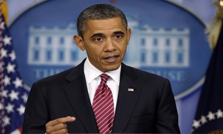 """أوباما يرفض فكرة أن الغرب فى حرب مع الإسلام ويصفها بأنها """"كذبة قبيحة"""""""