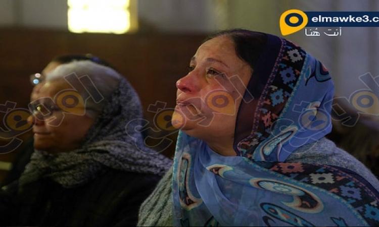 بالصور.. البابا تواضروس يرأس مراسم قداس تأبين المصريين المقتولين بليبيا