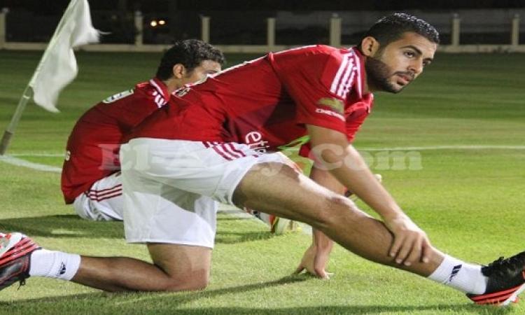 اختبار طبى يحدد موعد عودة أحمد خيرى للتدريبات