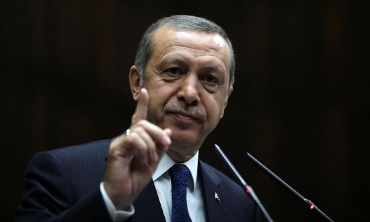 الرئيس التركى: لن نسمح بفرض أمر واقع بمحاذاة حدودنا