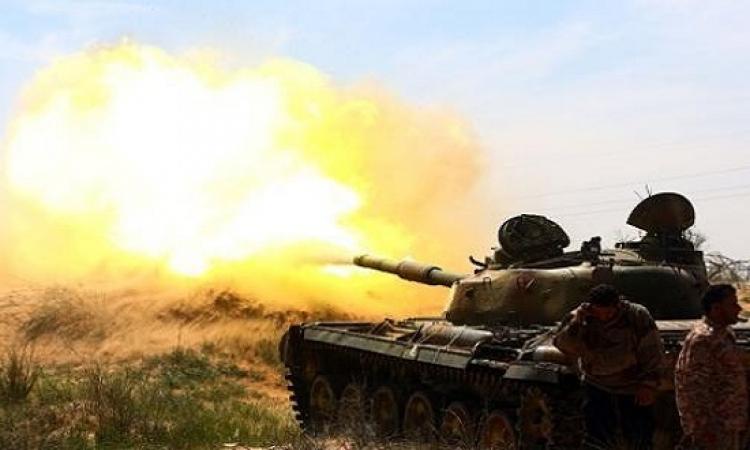 الجيش الليبى يبدأ عملية برية وجوية فى بنغازى