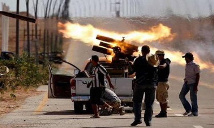القوات الخاصة الليبية : تنظيم داعش ببنغازى فى طريقه للانهيار