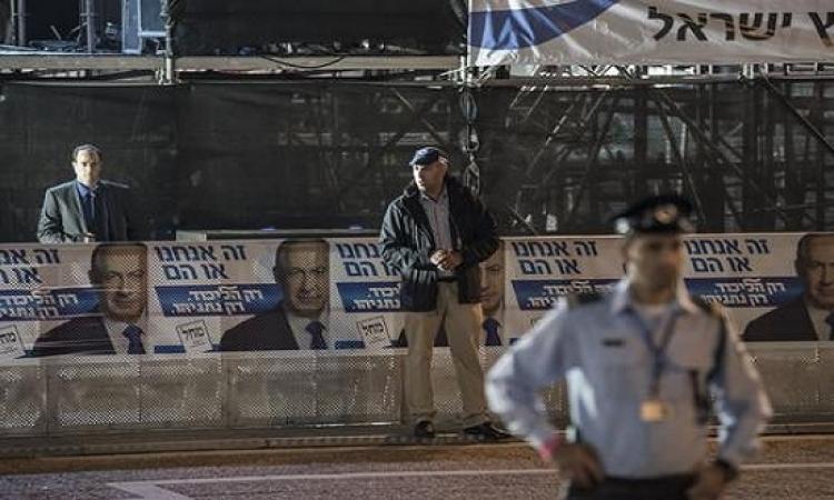 انطلاق الانتخابات البرلمانية فى اسرائيل وسط توقعات بخسارة نتانياهو