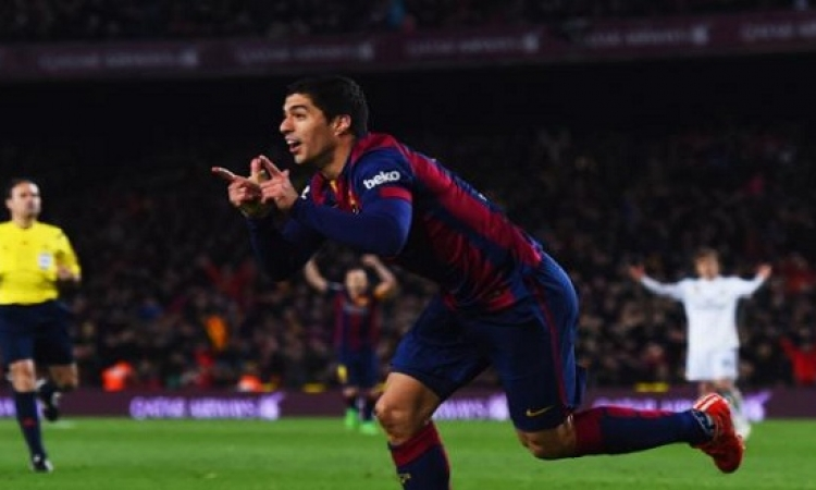 برشلونة يبدأ الاستعداد لنهائى الكأس بدون سواريز وماتى