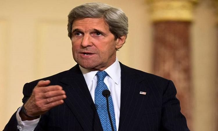 كيرى: لن نواجه إيران ولن نتخلى عن حلفائنا