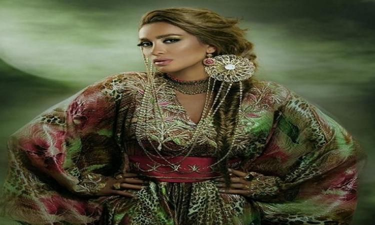مايا دياب تسرق إطلالة جريئة لكيم كارديشان وتظهر بها فى رمضان