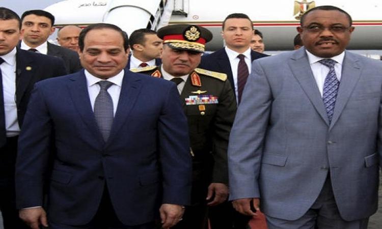السيسى يواصل اليوم فعاليات زيارته لإثيوبيا ويلتقى نظيره ورئيس الوزراء