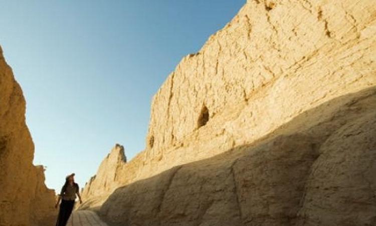 الصين تنشئ سورا عظيما من الرمال