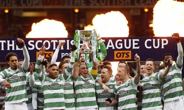 سلتيك يتوج بأول ألقاب الموسم الاسكتلندى لكرة القدم